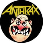 ANTHRAX: Notman (jelvény, 2,5 cm)