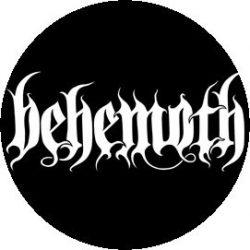 BEHEMOTH: Logo (jelvény, 2,5 cm)