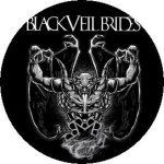 BLACK VEIL BRIDES: Demon (jelvény, 2,5 cm)