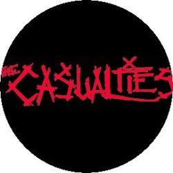 CASUALTIES: Logo (jelvény, 2,5 cm)
