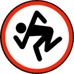 D.R.I.: Logo (jelvény, 2,5 cm)