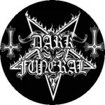 DARK FUNERAL: Logo (jelvény, 2,5 cm)