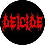 DEICIDE: Logo (jelvény, 2,5 cm)