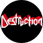 DESTRUCTION: Logo (jelvény, 2,5 cm)