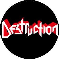DESTRUCTION: Logo (jelvény, 2,5 cm)