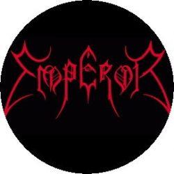 EMPEROR: Logo (jelvény, 2,5 cm)