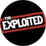 EXPLOITED: Logo (jelvény, 2,5 cm)