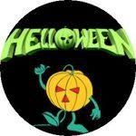 HELLOWEEN: Logo (jelvény, 2,5 cm)
