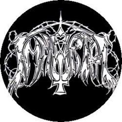 IMMORTAL: Logo (jelvény, 2,5 cm)