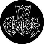 IN FLAMES: Logo (Old) (jelvény, 2,5 cm)