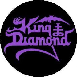 KING DIAMOND: Logo (jelvény, 2,5 cm)