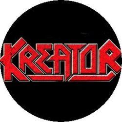 KREATOR: Logo (jelvény, 2,5 cm)