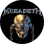 MEGADETH: Vic (jelvény, 2,5 cm)