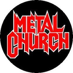 METAL CHURCH: Logo (jelvény, 2,5 cm)