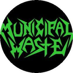 MUNICIPAL WASTE: Logo (jelvény, 2,5 cm)
