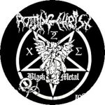 ROTTING CHRIST: Black Metal (jelvény, 2,5 cm)