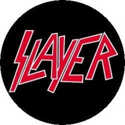SLAYER: Logo (jelvény, 2,5 cm)
