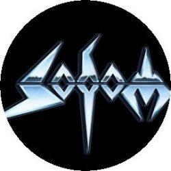 SODOM: Logo (jelvény, 2,5 cm)