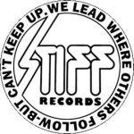STIFF RECORDS (jelvény, 2,5 cm)