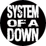 SYSTEM OF A DOWN: System OAD (jelvény, 2,5 cm)