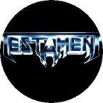 TESTAMENT: Logo (jelvény, 2,5 cm)
