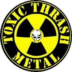 TOXIC HOLOCAUST: Toxic Thrash Metal (jelvény, 2,5 cm)