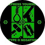 TYPE O NEGATIVE: Express Yourself (jelvény, 2,5 cm)