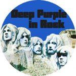 DEEP PURPLE: In Rock (nagy jelvény, 3,7 cm)