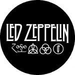 LED ZEPPELIN: 4 Symbols (nagy jelvény, 3,7 cm)