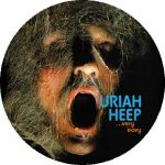 URIAH HEEP: Very 'eavy... (nagy jelvény, 3,7 cm)