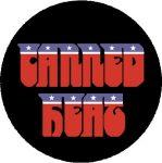 CANNED HEAT: Logo (nagy jelvény, 3,7 cm)
