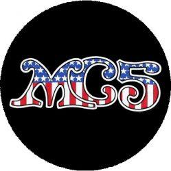 MC5: American Flag (nagy jelvény, 3,7 cm)