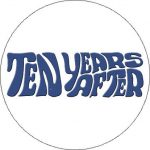 TEN YEARS AFTER: Logo (nagy jelvény, 3,7 cm)
