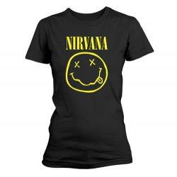 NIRVANA: Smiley Logo (női póló)