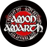 AMON AMARTH: Runes (circle, 95 mm) (felvarró)