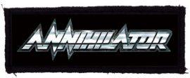 ANNIHILATOR: Logo (125x40) (felvarró)