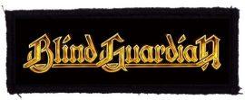 BLIND GUARDIAN: Logo (125x40) (felvarró)
