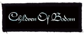CHILDREN OF BODOM: Logo (125x40) (felvarró)
