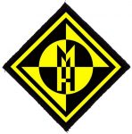 MACHINE HEAD: Logo Classic (65x65) (felvarró)