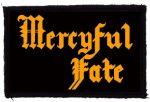 MERCYFUL FATE: Logo (95x60) (felvarró)