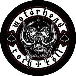 MOTORHEAD: Rock & Röll Warpig (circle) (felvarró)