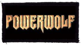 POWERWOLF: Logo (95x45) (felvarró)