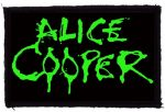 ALICE COOPER: Logo (95x60) (felvarró)