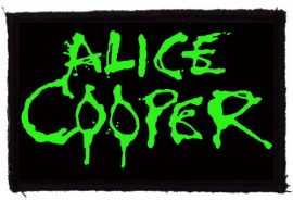 ALICE COOPER: Logo (97x60) (felvarró)
