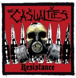 CASUALTIES: Resistance (95x95) (felvarró)