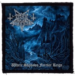 DARK FUNERAL: Where Shadows (95x95) (felvarró)