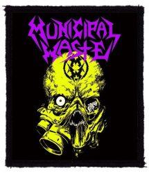 MUNICIPAL WASTE: Nuclear (80x95) (felvarró)