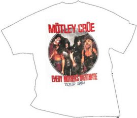 MÖTLEY CRÜE: Every Mother's Nightmare (póló)