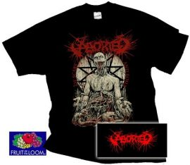 ABORTED: Of Scabs And Boils (póló)