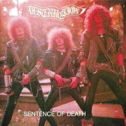 DESTRUCTION: Sentence Of Death (LP, Euro Cover)